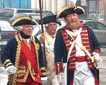Newport Harbor Walk Re-enactment of Rochambeau arrival
